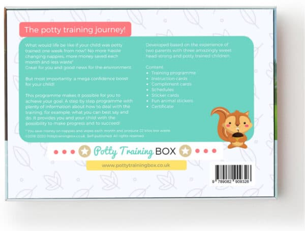 Potty Training Box - Back