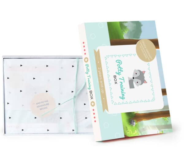 Potty Training Box - Inside