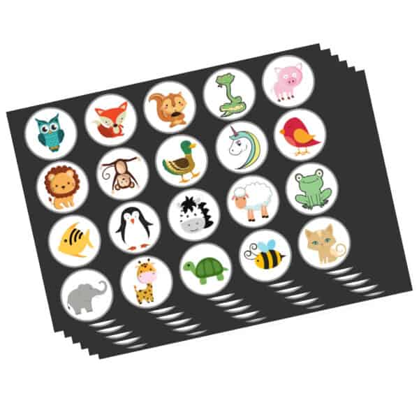 Potty Training Box - Stickers